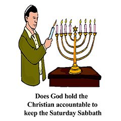 Does God Hold The Christian Accountable To Keep The Saturday Sabbath